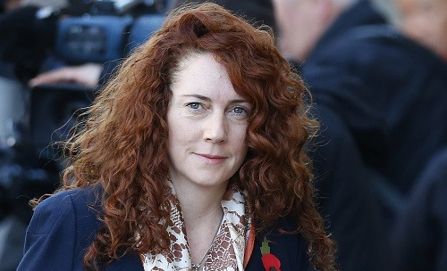 Former News International chief executive Rebekah Brooks arrives at the Old Bailey (Reuters)
