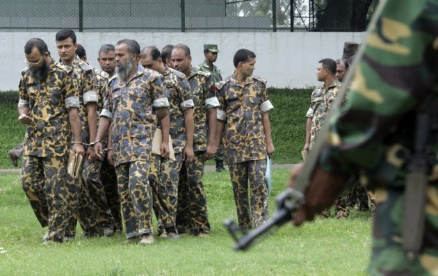 Bangladesh soldiers death sentences