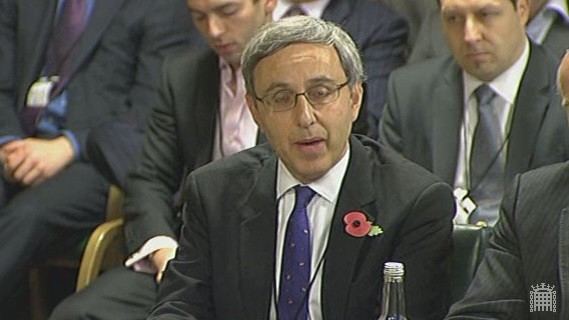 Wonga's head of regulatory and public affairs says  payday loan companies 'do not charge extortionate interest rates' (Photo: Parliament TV)