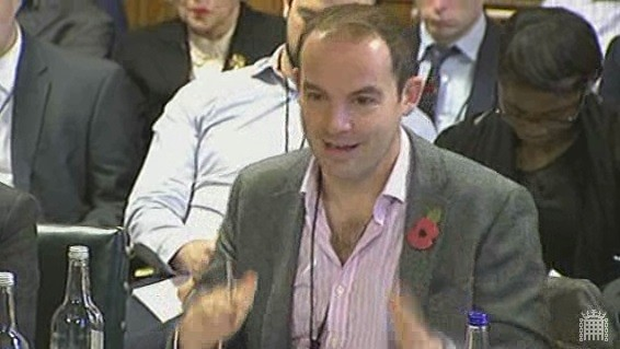 Moneysavingexpert.com's founder Martin Lewis was the only member out of a panel of four consumer finance advice groups to suggest that there isn't an appropriate place for payday lending in society. (Photo: Parliament TV)