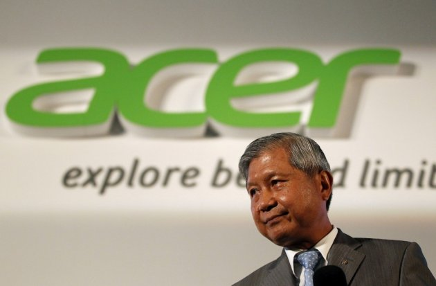 Acer CEO J.T. Wang