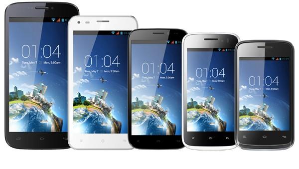 Kazam Trooper Range Smartphones