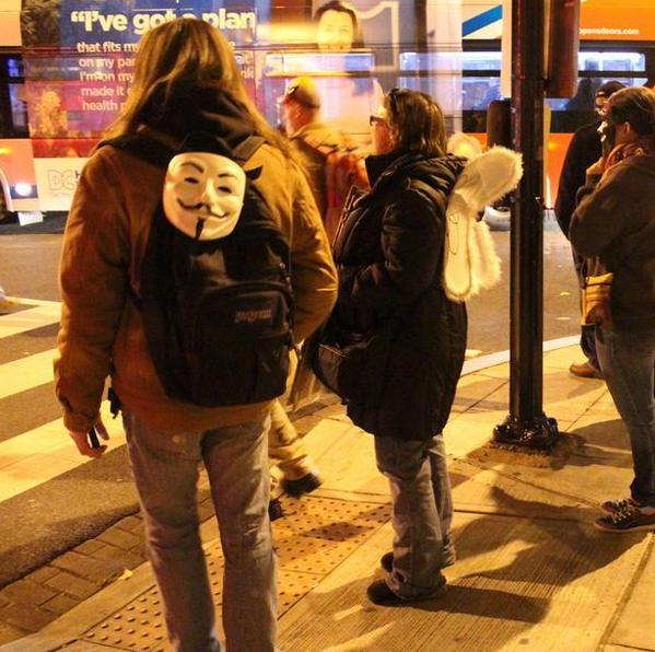 Anonymous Million Mask March - Washington
