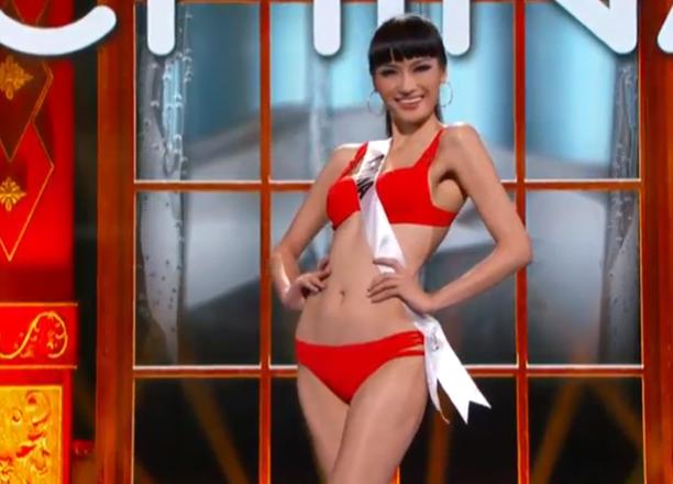 Miss Universe 2013: Miss China