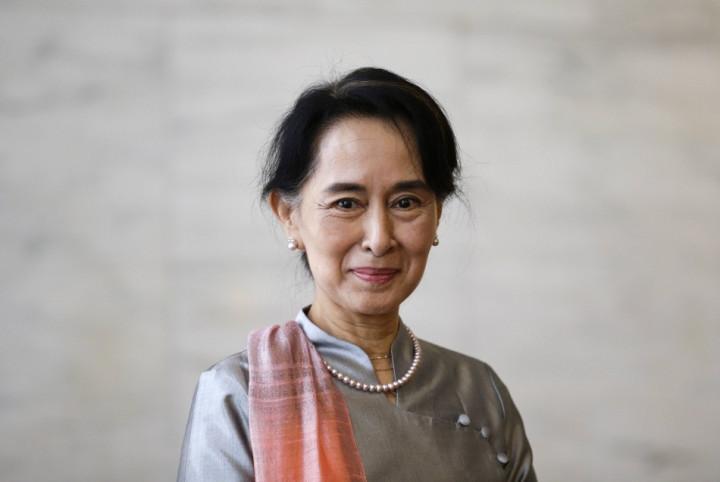 Myanmar pro-democracy leader Aung San Suu Kyi
