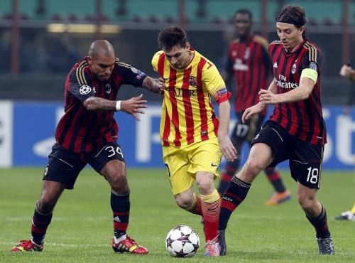Messi De Jong Montolivo