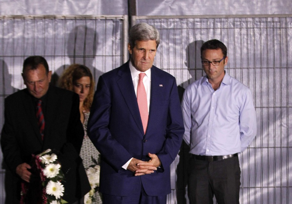 US Secretary of State John Kerry in Israel