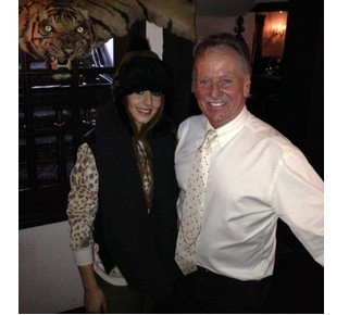 towie for cheryl cole star tucks in at alan sugar s