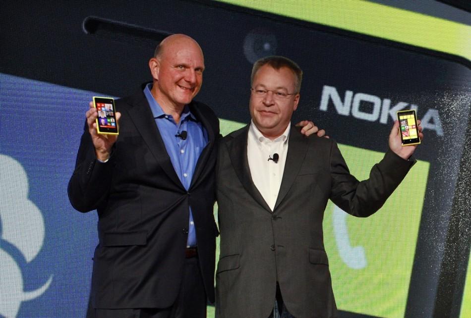 Elop and Ballmer
