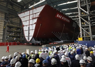 Ship building to end in Portsmouth