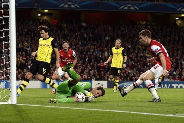 Arsenal v Dortmund