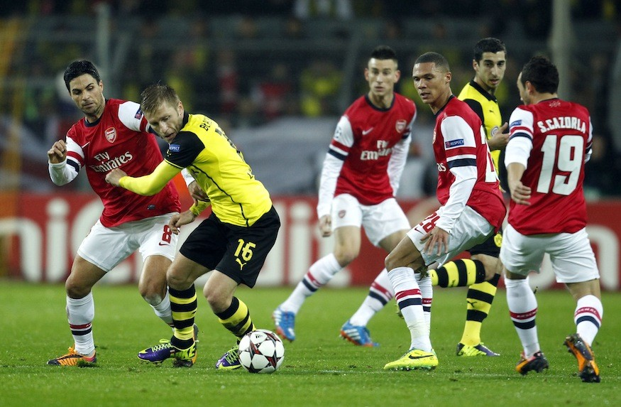 Dortmund v Arsenal