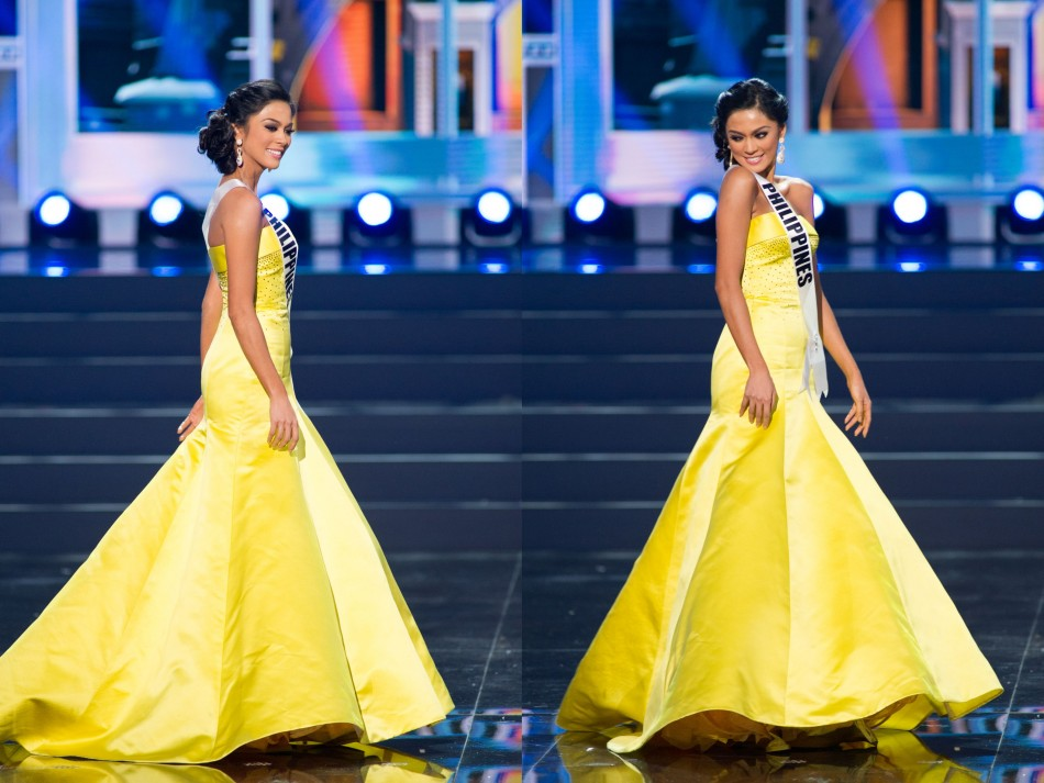 The yellow gown has not been received well by the fans of Ariella Arida. (Photo: Miss Universe L.P., LLLP)