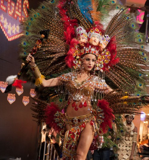 Miss Nicaragua Nastassja Bolivar won the national costume contest for Miss Universe 2013(Miss Universe website)