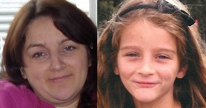 Sarah Laycock (L) and her daughter Abigail Miller (West Yorkshire Police)