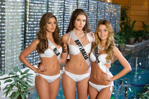 Stunning contestants in YAMAMAY swimwear [MissUniverse.com]