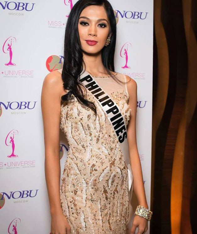 Miss Philippines Ariella Arida in an event at the Nobu Moscow restaurant.