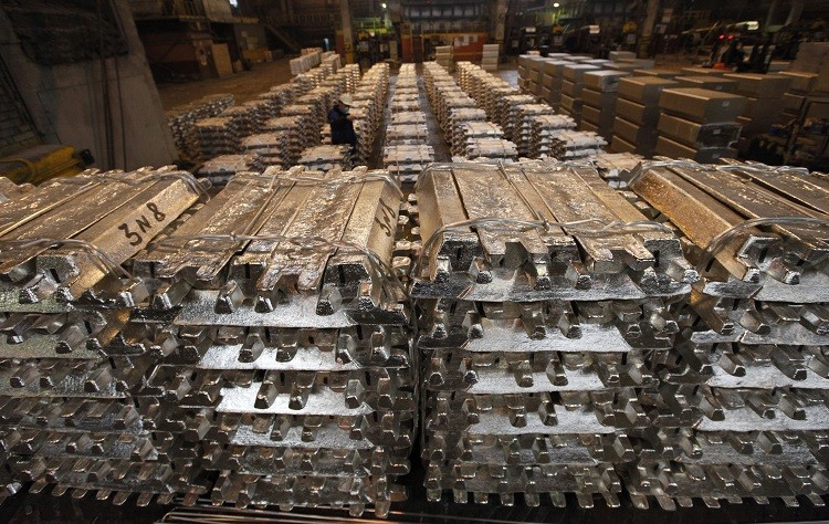 Aluminium ingots in a warehouse. LME has pledged to slash waiting times for phsyical assets (Photo: Reuters)