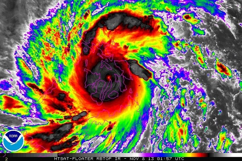 Monster Typhoon Yolanda Wreaks Havoc in Philippines