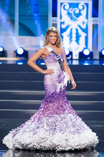 Miss Universe Great Britain 2013, Amy Willerton (Photo: Miss Universe L.P., LLLP)