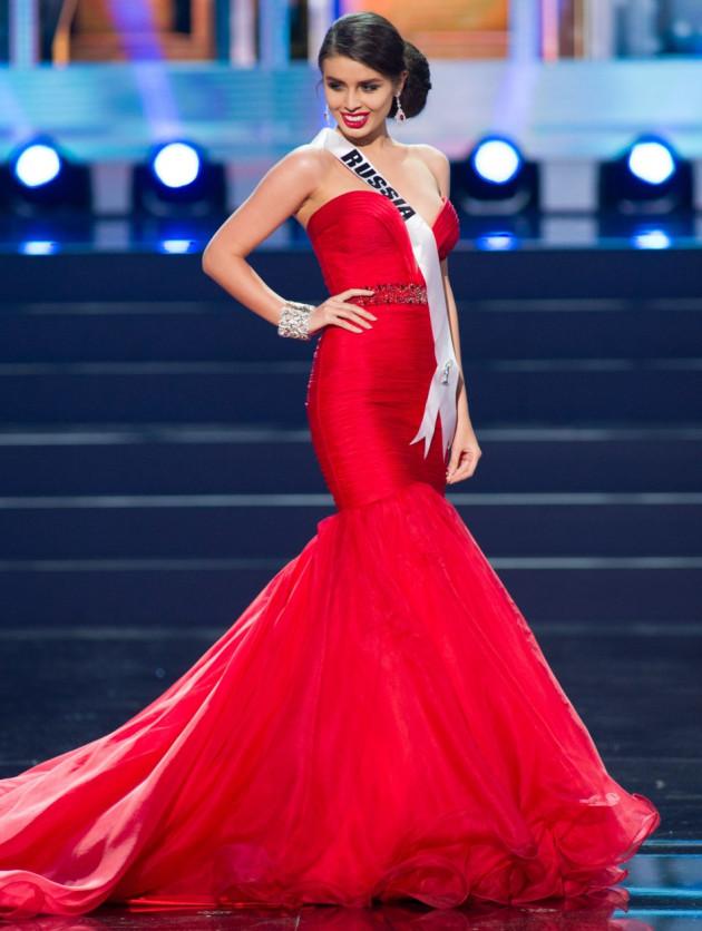 Elmira Abdrazakova, Miss Universe Russia 2013 (Photo: Miss Universe L.P., LLLP)