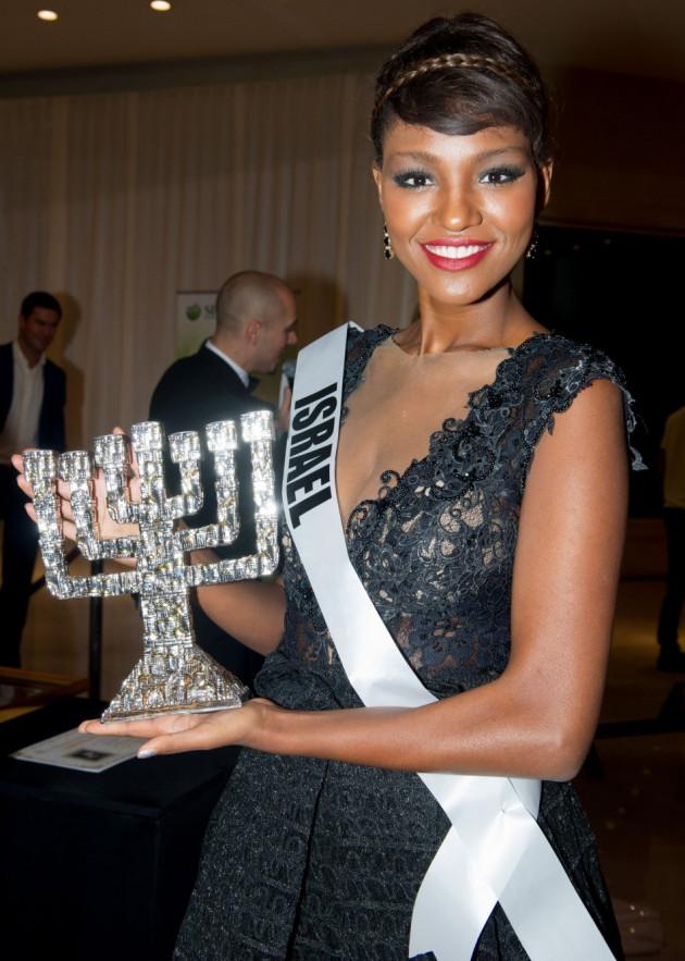 Titi Yitayish Ayanaw, Miss Universe Israel 2013 (Photo: MIss Universe Organization L.P., LLLP)