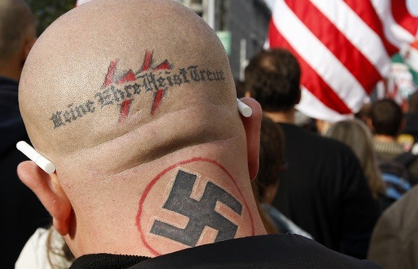 The event is hoping to reclaim the Swastika from its Nazi connotations (Reuters)