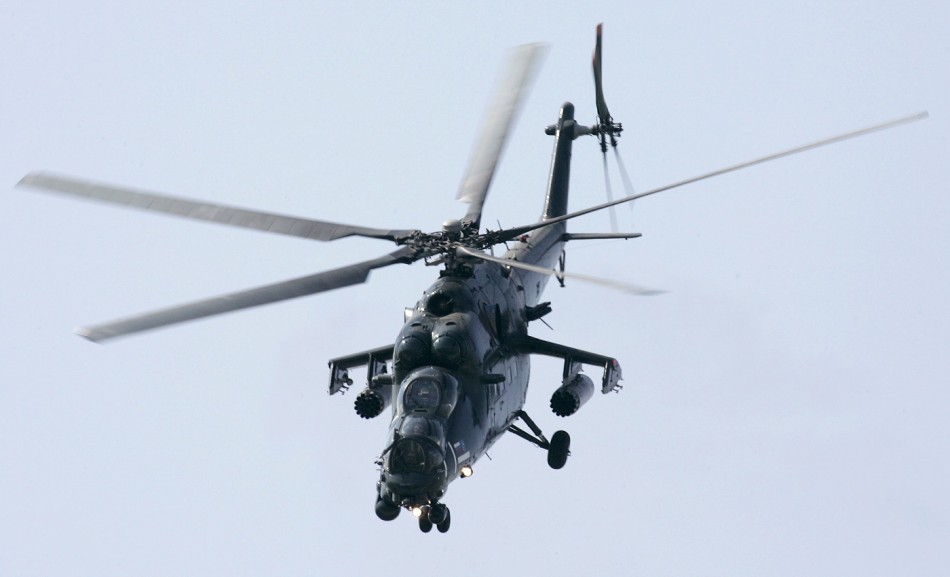 Russian helicopter iraq