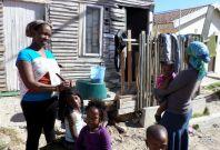 Women of the Imizano Yethu township, Cape Town