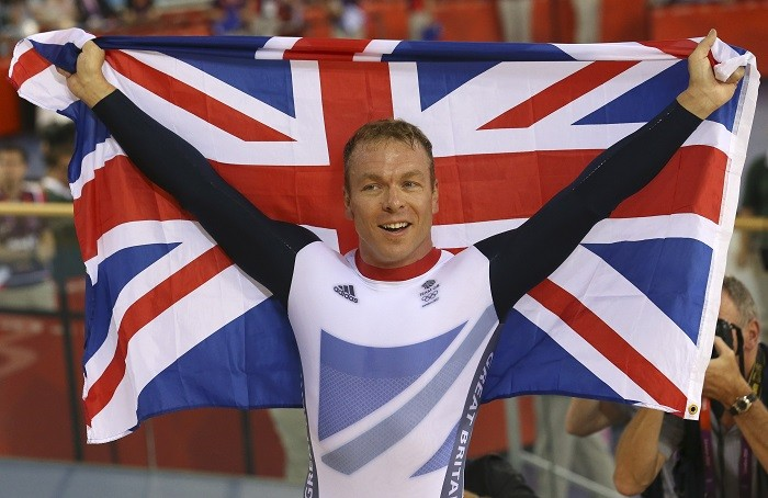 Sir Chris Hoy will be the star at the switching-on event in Edinburgh (Reuters)