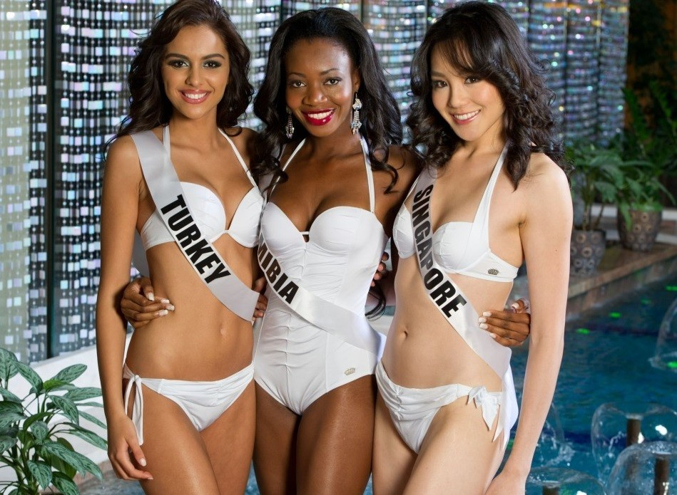 Miss Universe 2013 seems a long way from controversy of anti-gay law in Russia