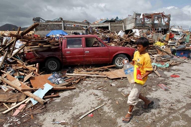 Tacloban, Leyte Island aftermath