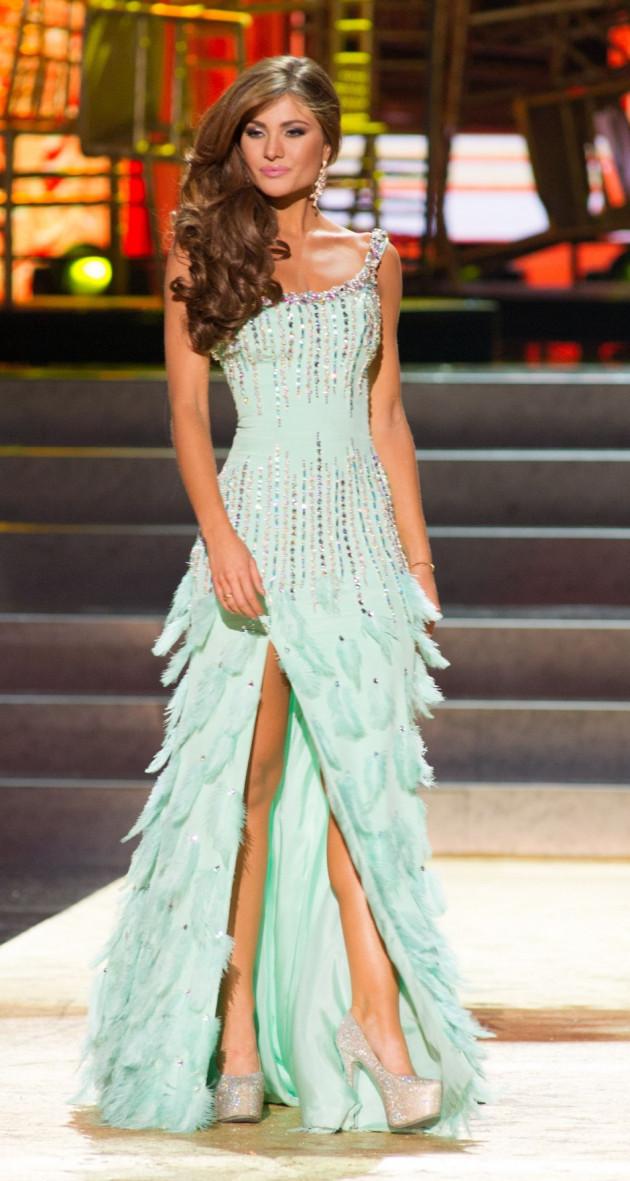 Constanza Baez, Miss Universe Ecuador 2013. (Photo: Miss Universe L.P., LLLP)
