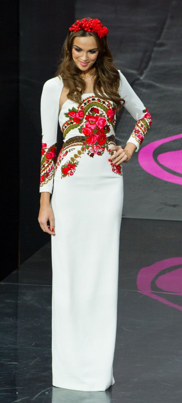 Paulina models in the National Costume contest during the Miss Universe 2013 pageant. (Photo: HO/Miss Universe L.P., LLLP)