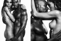 Tyson Beckford and Ines Rau