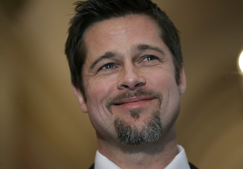 Happy Birthday Brad Pitt! Golden Globe-winning actor turns 50 today.