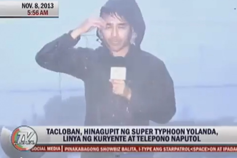 Atom Araullo Typhoon Haiyan / Yolanda