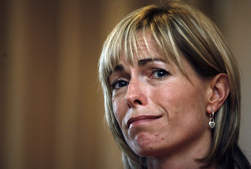 Kate McCann continues to look for lost daughter Madeleine PIC: Reuters
