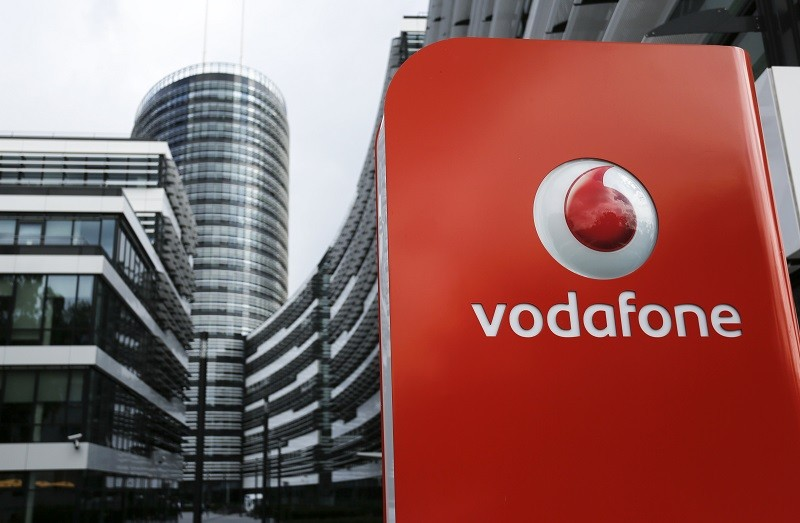 Vodafone shares plummeted in the early trading session