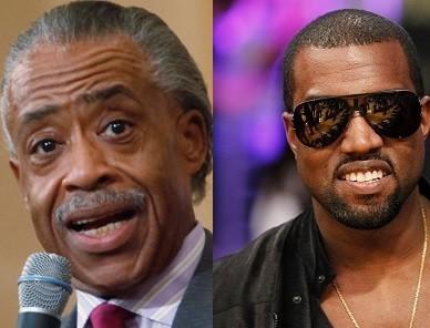 Al Sharpton and Kanye west