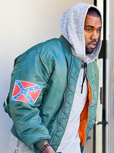Kanye West and the Confederate Flag