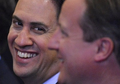 Ed Miliband is closing gap with David Cameron