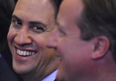 Ed Miliband is closing gap with David Cameron