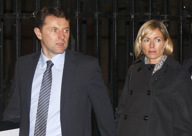 Jerry and kate McCann would be shocked by sick t-shirts, claimed Wandsworth jail source PIC: Reuters