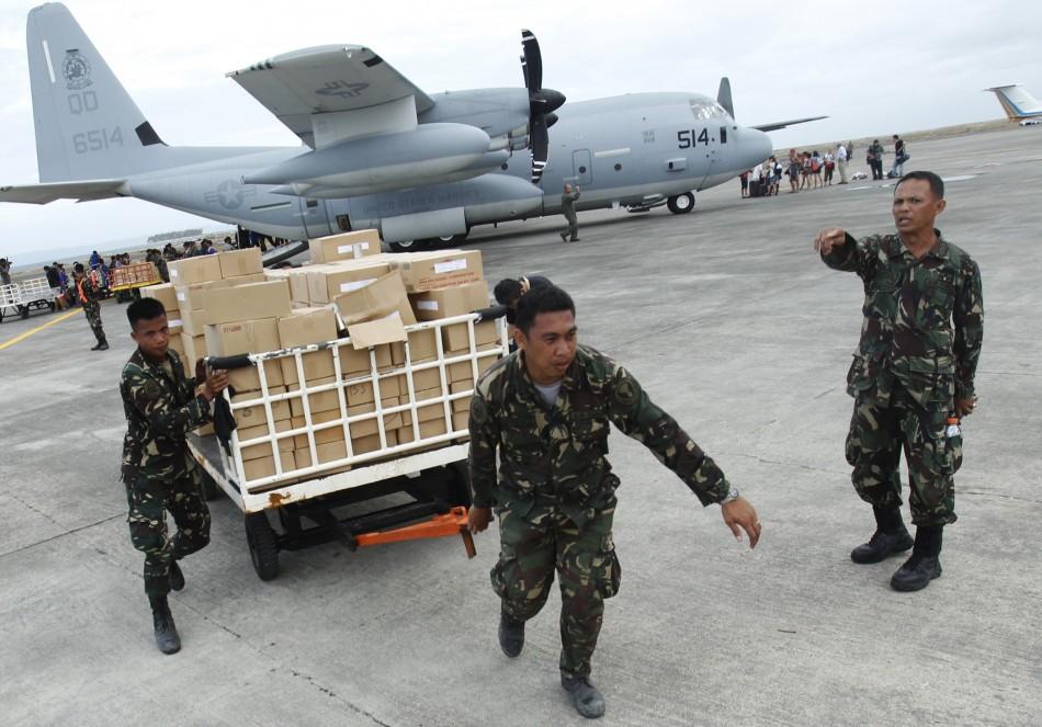 Typhoon Haiyan aid effort under way in Tacloban