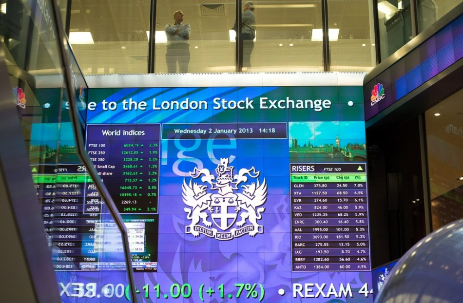 European markets outside Spain and Italy trade lower on 13 November