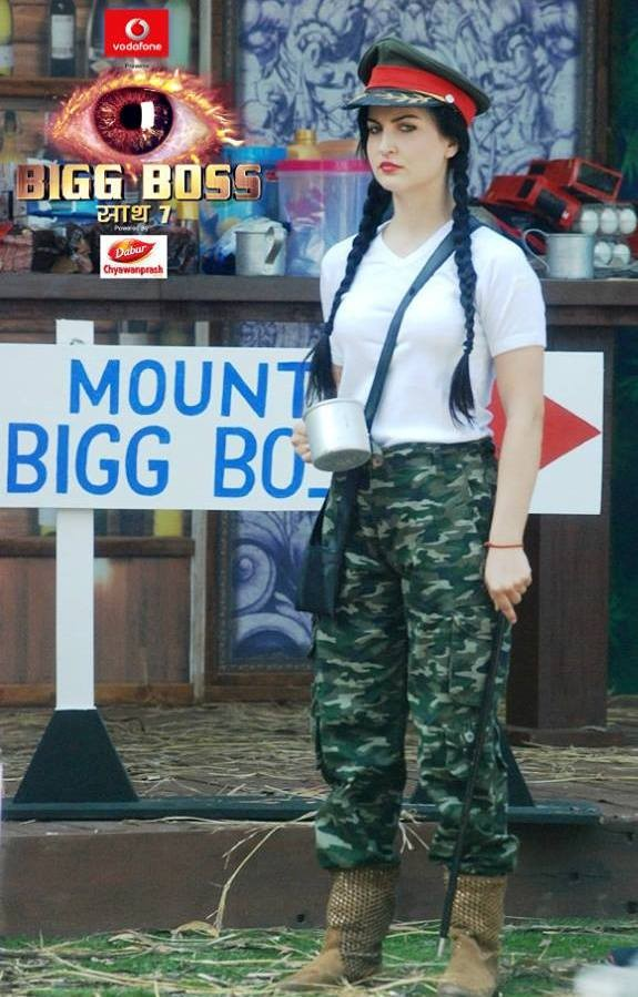 Elli Avram as General in the new luxury budget task