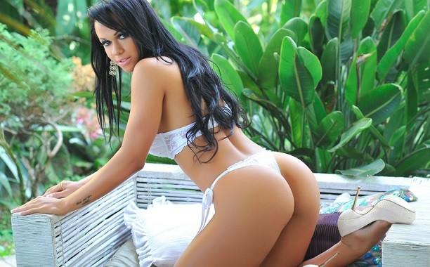 Pollyanna Lopes Mari Sousa Christiane Guimma is Miss Bum Bum hopeful PIC: missbumbum Brasil