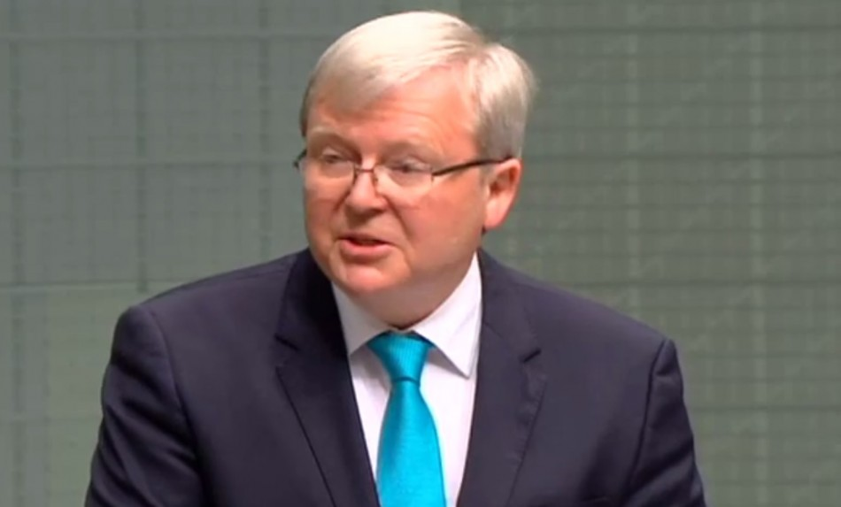 Kevin Rudd retires
