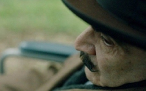 Curtain: Poirot's Last Case sees the detective wheelchair-bound (ITV)